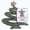 Glittering Christmas Tree Pin