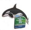 Orca Whale Pin