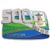 500 Day To Go Boxed Pin