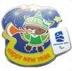 Sumi New Year Pin