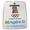 BC Hydro For Gernerations Pin