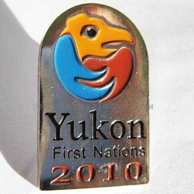 First Nation Yukon Pin